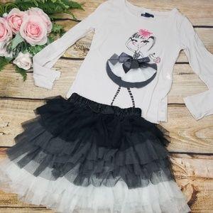 Gap Kids Top Tutu girl TCP Tulle Ombre Skirt